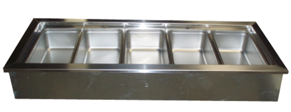 R&D Fixtures exclusive Coppered Cold Pan