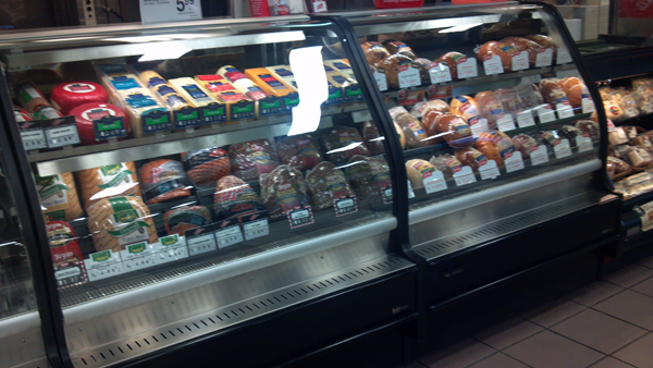 Euro Refrigerated Deli Case