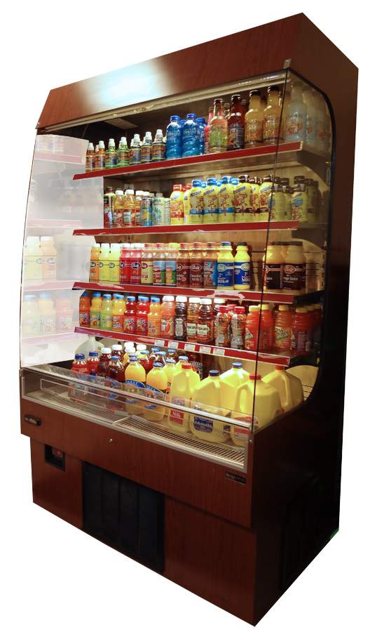 "Refrigerated Grab-N-Go, 78"" tall"